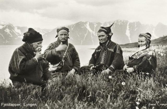 Norway Mountain Sami People