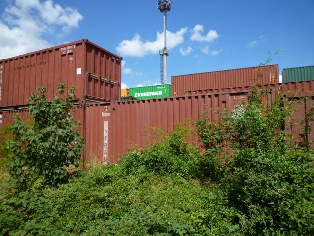 Litvínov, Railway Station, Cargo, foto: FOS