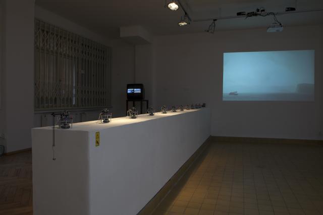 Ex Post Gallery, Robert Vlasák, Julia Martin, photo: Tomáš Hrůza