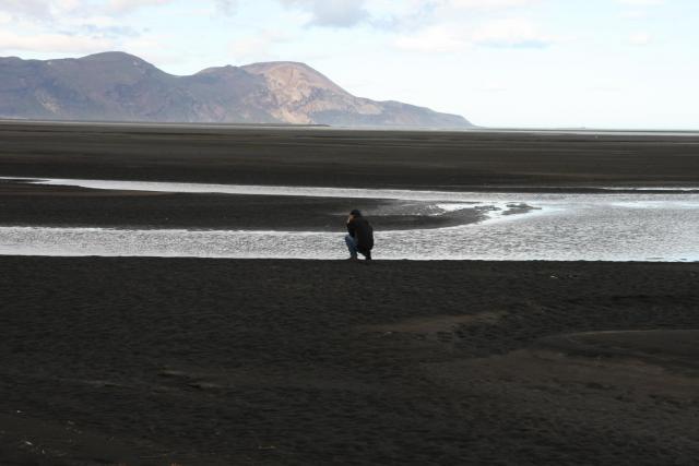 In the Héraðsflói estuary. Photo: Lisa Paland, 2015.