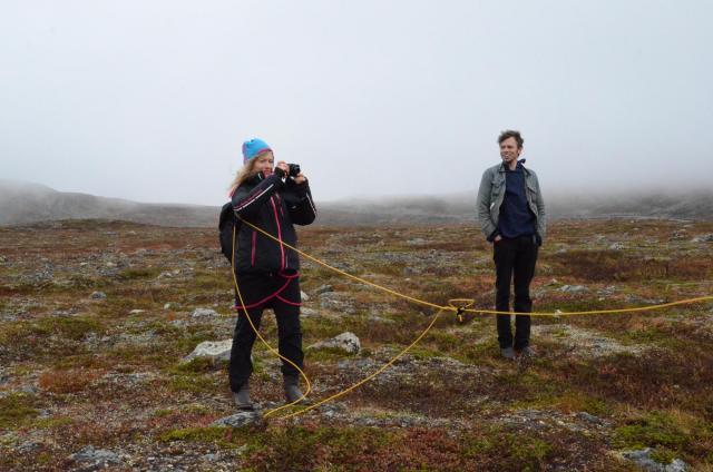 the art of Lasso Throwing, Alena Kotzmanová and Auxpan, photo: Ivar Smedstad