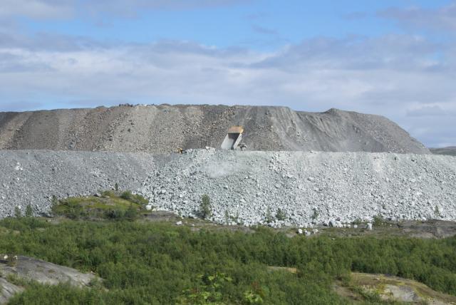 Sydvabrudd ore mine,  photo: archive FOS