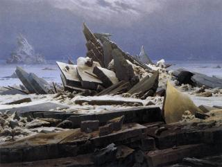 Caspar David Friedrich: Ledové moře