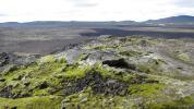 Leirhnjúkur lava fields near Krafla, Iceland, August 2015. Photo: Diana Winklerová, 2015.