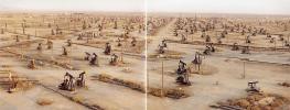 Edward Burtynsky, Oil Fields #19ab Belridge, California, USA, 2003