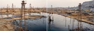 Edward Burtynsky, SOCAR Oil Fields #3, Baku, Azerbaijan 2006