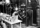 Dr. Frankenstein (Boris Karloff) and Fritz (Dwight Frye) 1931 movie